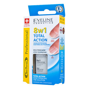 Nail Therapy Professional - 8w1 Total Action - skoncentrowana odżywka do paznokci