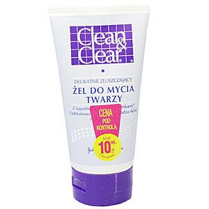 Clean & Clear - złuszczający żel do mycia twarzy
