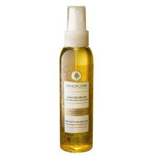 Huile des Delices - jedwabisty suchy olejek do ciała, twarzy i włosów