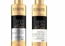 Body Glam Argan – luksusowy jedwab do ciała ze złocistym pyłem