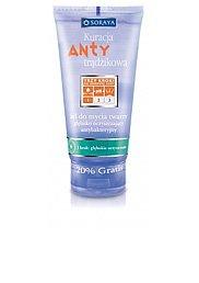 Kuracja Antytrądzikowa - Żel do mycia twarzy głęboko oczyszczający antybakteryjny
