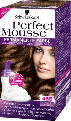 Perfect Mousse - pianka trwale koloryzująca włosy