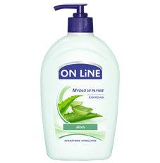 On Line - aloes - kremowe mydło w płynie