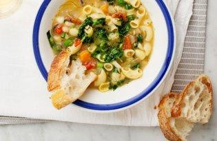Francuska zupa jarzynowa z pistou