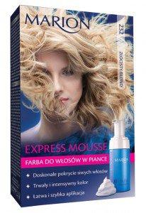 Express Mousse - farba do włosów w piance