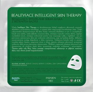 Intelligent Skin Therapy - regulująca wydzielanie sebum maska z ekstraktem z bazylii