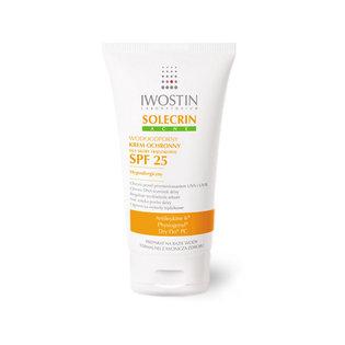 Solecrin Acne SPF 25 - Wodoodporny krem ochronny dla skóry trądzikowej - średnia ochrona