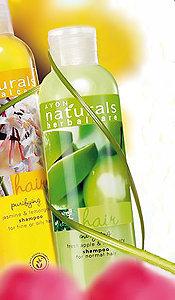 Naturals - Jabłko i rozmaryn - Energizujący szampon do włosów normalnych