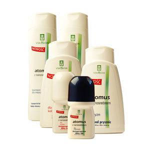 Atomus - szampon do włosów z nanosrebrem dla kobiet