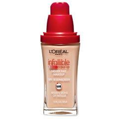 Infallible Make-Up - podkład trwały przez 16h
