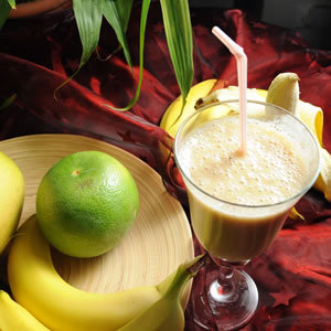 Bananowy drink