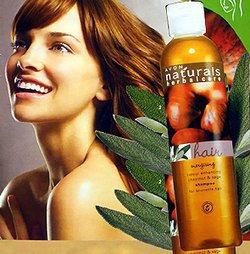 Naturals Herbal Care - Kasztan i Szałwia - szampon ożywiający kolor do włosów ciemnych