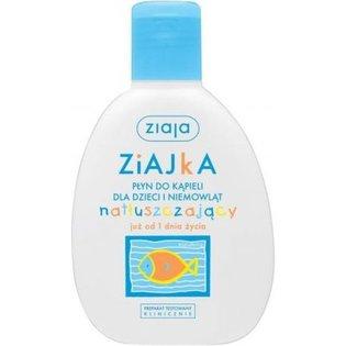 Ziajka - płyn do kąpieli dla dzieci i niemowląt natłuszczający