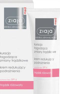 Med - Klinika zdrowej skóry - krem redukujący podrażnienia - trądzik różowaty