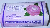 Fitti - delikatne nawilżające mydło glicerynowe, różane