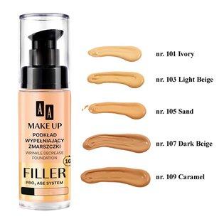 AA – Make Up – Filler Pro 3 Age System – podkład wypełniający zmarszczki