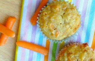 Muffiny marchewkowo-kokosowe