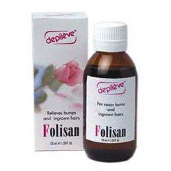 Folisan - preparat zapobiegający wrastaniu włosków po depilacji