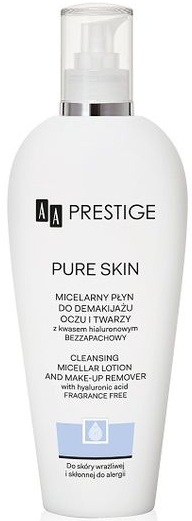 Płyn micelarny do demakijażu twarzy i oczu AA Prestige Pure Skin 200 ml - cena: ok. 32 zł
