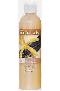 Naturals - Wanilla & Soy Milk Shower Gel