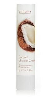 Kokosowy krem pod prysznic
