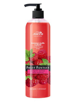 Fruit Fantasy - soczysta malina - kremowe mydło w płynie