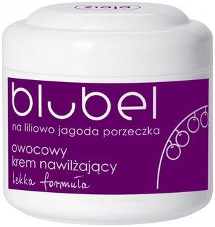 Blubel - owocowy krem nawilżający na liliowo jagoda porzeczka - lekka formuła