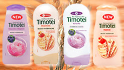 Sensations - Ekstrakty z mleczka owsianego i brzoskwini - szampon