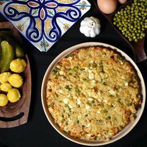 Marokański tort jajeczny M'guena