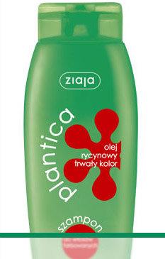 Plantica V - Olej rycynowy - szampon do włosów farbowanych