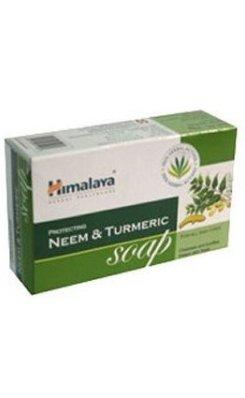 Protecting Neem & Turmeric Soap - oczyszczające mydło do codziennego stosowania