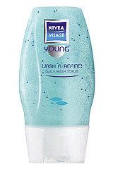 Visage Young - Clean Deeper - żel-peeling do codziennego mycia twarzy