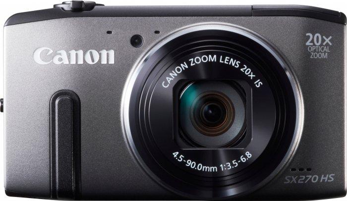 Aparat cyfrowy Canon PowerShot SX270 HS szary - ok. 709 zł