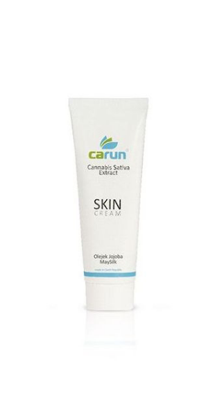 Carun, Cannabis Sativa Extract, Skin Cream (Krem konopny)