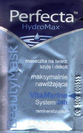 Perfecta HydroMax - Maseczka na twarz, szyję i dekolt maksymalnie nawilżająca
