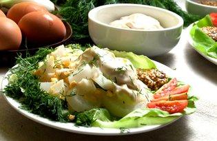Sałatka z młodej cebuli