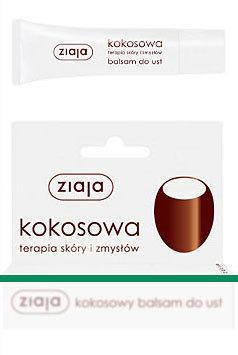 Kokosowa terapia skóry i zmysłów - balsam do ust