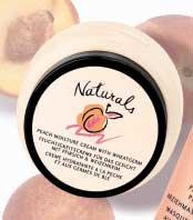 Naturals - brzoskwiniowy krem nawilżający