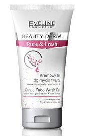 Beauty Derm Pure & Fresh - Kremowy żel do mycia twarzy