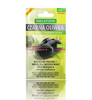 Czarna Oliwka - kremowy peeling + maseczka intensywnie regenerująca