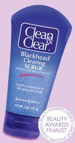 Clean & Clear - Peelingujący żel przeciw wągrom
