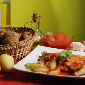 Patatas bravas - ziemniaki na kaca
