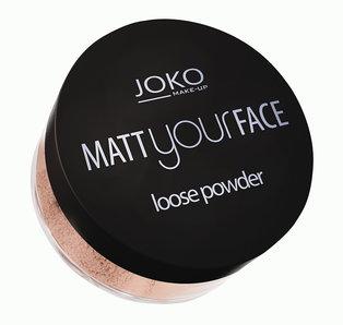 Joko – Matt Your Face – matujący puder sypki