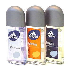 Adidas Refreshing Deo Natural Spray Body booster for men - Urban Spice