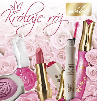Sparkling Rose Kiss - błyszczyk różany