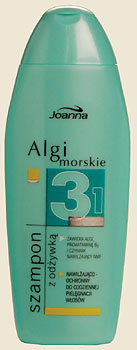 Algi morskie - szampon z odżywką nawilżająco-ochronny