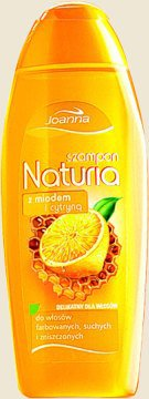 Naturia - szampon z miodem i cytryną do włosów farbowanych, suchych i zniszczonych