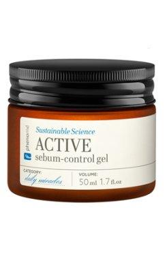 Active sebum-control gel - krem nawilżająco-matujący do cery tłustej i mieszanej