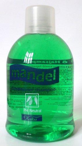 Mandel Conditioner shampoo - łagodny szampon do włosów o zapachu migdałowym