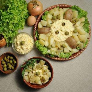 Peruwiańska sałatka z ziemniaków